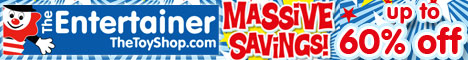 Massive Savings on toys with up to 60% off at The Entertainer