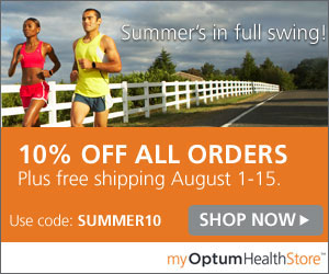 Save 10% Plus Free Shipping on All Purchases (8/1-8/15), Code SUMMER10