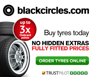 Special offer for Black Circles tyres
