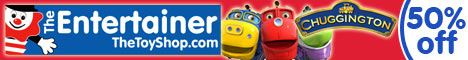 up to 50% off Chuggington toys at The Entertainer
