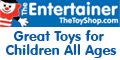 The Entertainer, established in 1981, is one of the UK's largest toy shops with over 50 stores nationwide. A massive range of over 2000 toys and games, from Ben 10 to Sylvanian Families, are available in-store and online