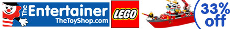 33% off Lego at The Entertainer
