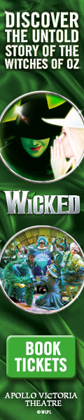 Book theatre tickets to Wicked