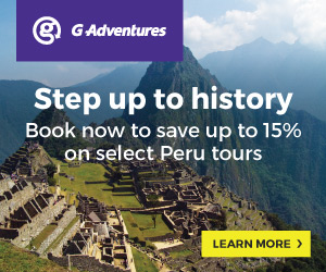 G Adventures Peru & Amazon River Cruises. Book by 30 Sep