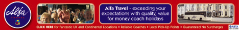 Alpha Coach Holidays Late Deals