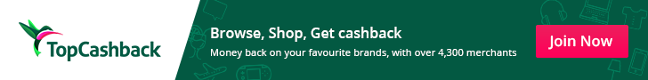 Top Cashback advert
