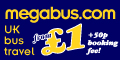 Low cost bus and train tickets throughout the UK