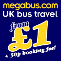 Megabus - Low Cost Inter City Bus Travel