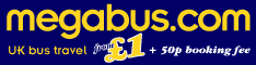 megabus bus travel london uk