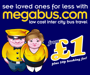 Visit friends, family and loved ones from £1 + 50p
