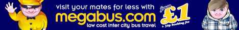 Megabus - Intercity bus tickets from £1.50