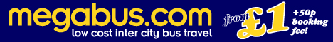 Megabus UK Coach Travel Deals