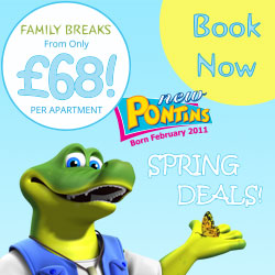 More Information or Book with Pontins