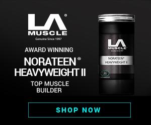 LA MUSCLE NUTRITION