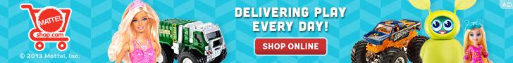 Mattel delivers play every day - Shop online at Mattel Shop!