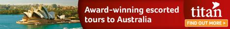 Titan Travel - Awardn Winning Escorted Tours to Australia