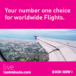 Cheap flights at lastminute