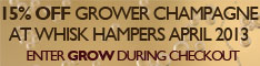 15% Off Grower Champagne