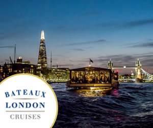 Bateaux London offers a variety of bespoke Thames cruises with music and food