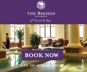Enjoy our luxurious surroundings in The Brehon, Killarney, County Kerry