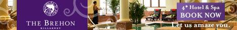 The Brehon Hotel Killarney & Luxury Angsana Spa
