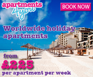 Apartments4you Apartment rentals worldwide from £225pw