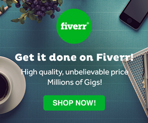 Fiverr- EASY, FAST, ON-BUDGET!