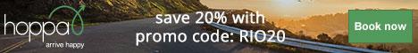 Hoppa Transfers - use code WINSUN33 to get 33% OFF