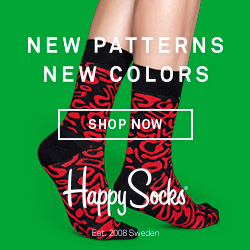Happy Socks - Colourful Design Socks