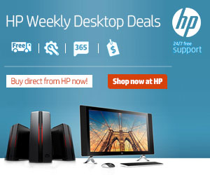 HP Weekly Desktop Deals