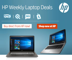HP Weekly Laptop Deals