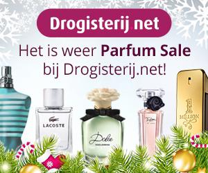 Het is weer parfum sale bij Drogisterij.net