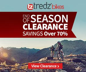 Advert for Tredz Bikes