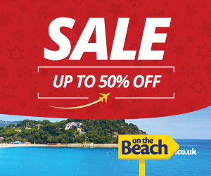 On the Beach New Year Sale up to 50% off hotels. Book by 31 Jan