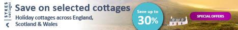 Sykes Cottages - Get great value on hundreds of cottages