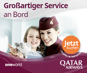 Flüge mit Quatar Airways
