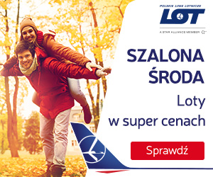 LOT Polish Airlines Banner - One of the best Airlines in the World
