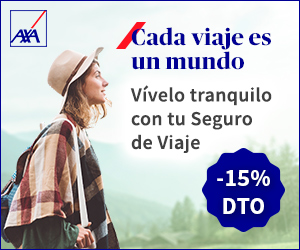 15% de descuento en tu seguro de viaje con AXA Assistance