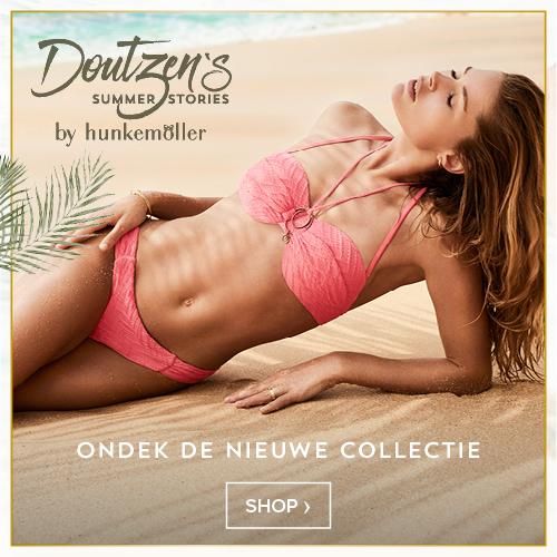 4fb96931458fd4 De nieuwste badmode lijn uit de Doutzen's Stories zorgt voor tropische  temperaturen. De bikini's, badpakken en accessoires van Doutzen zijn Jungle  Inspired ...