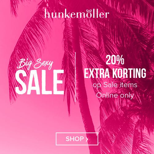 Big sexy sale bij Hunkemöller kortingen tot 20%