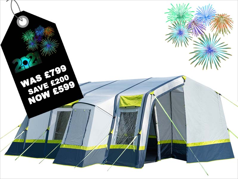 Tents for all the Family - Great weekend tents and large family tents