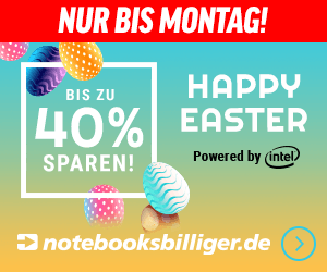 Notebooksbilliger- Happy Easter-Aktion