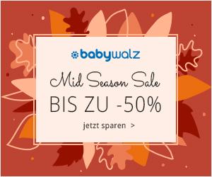 Mid Season Sale von Babywalz - Babyartikel online kaufen
