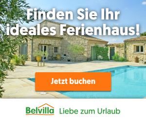 Belvilla Ferienhäuser online buchen