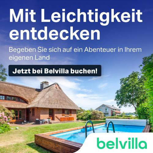 Belvilla, Ferienhäuser und Ferienwohnungen in Deutschland, der Schweiz und Österreich mit Rabatt