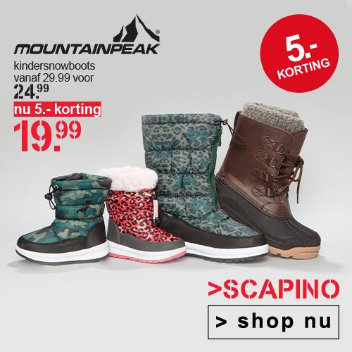 Shop snowboots met korting van € 24.99 voor € 19.99