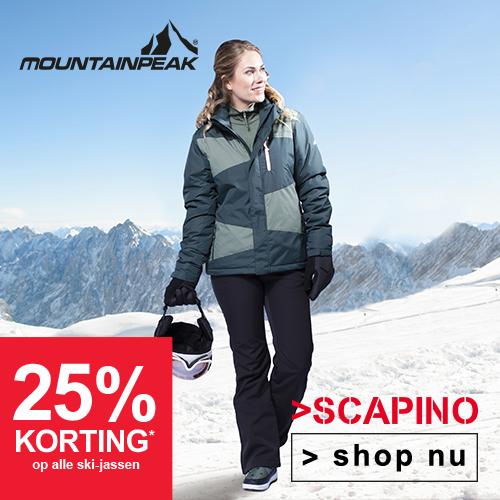 Scapino  25% korting op alle ski-jassen
