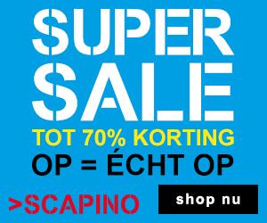 Scapino supersale tot 70% korting op = echt op