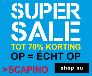 >Scapino sale tot 70% korting