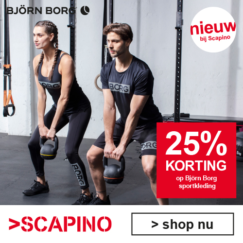 25% korting op Björn Borg